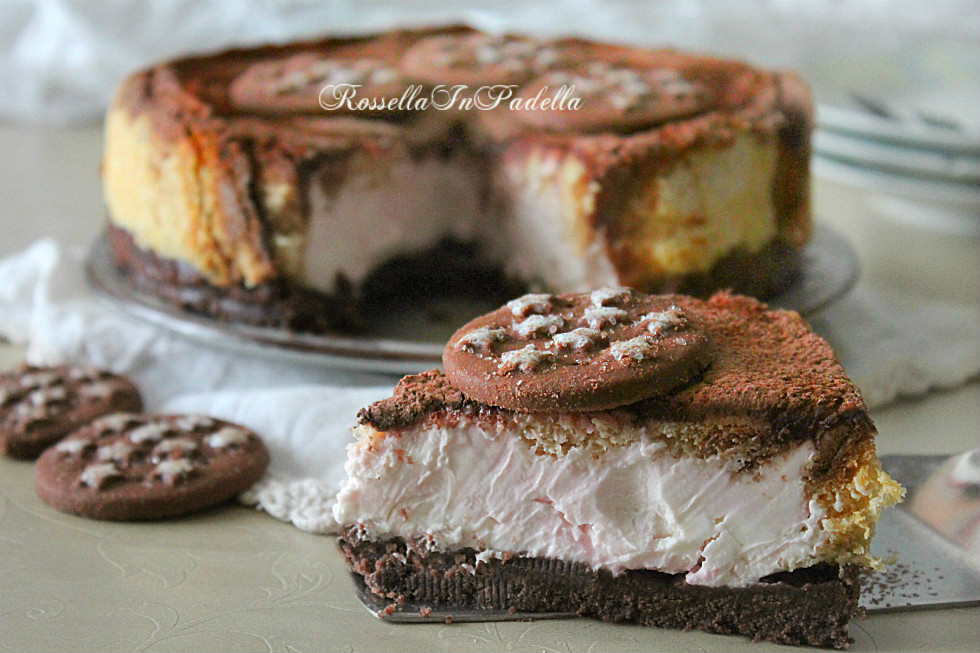 Cheesecake pan di stelle e pandoro