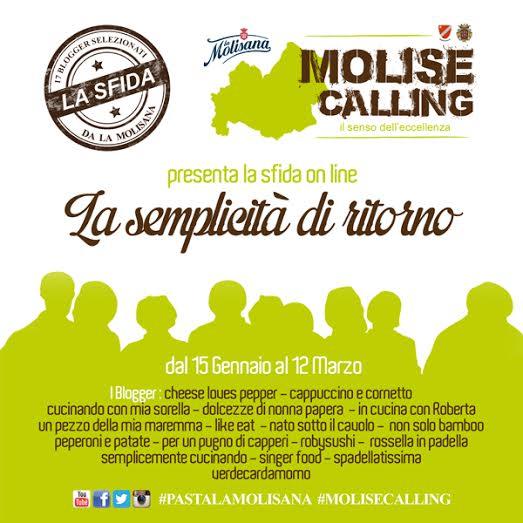 #pastalamolisana e #molisecalling
