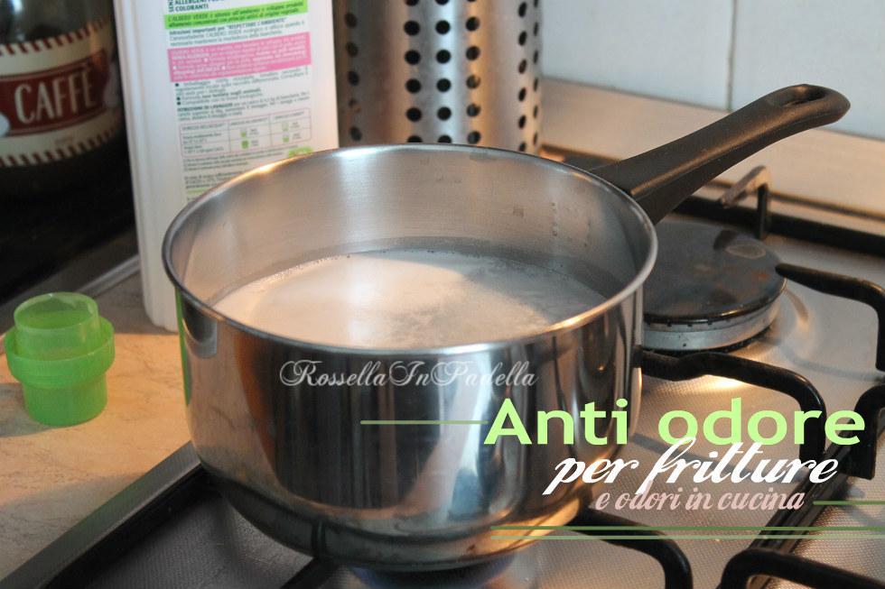 Anti odore per fritture e odori in cucina