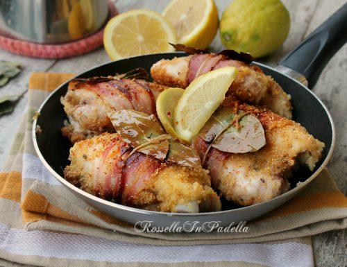 Pollo del poeta, con pancetta e limone