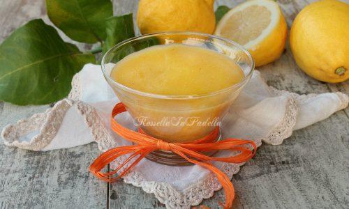 Lemon curd, fresca passione