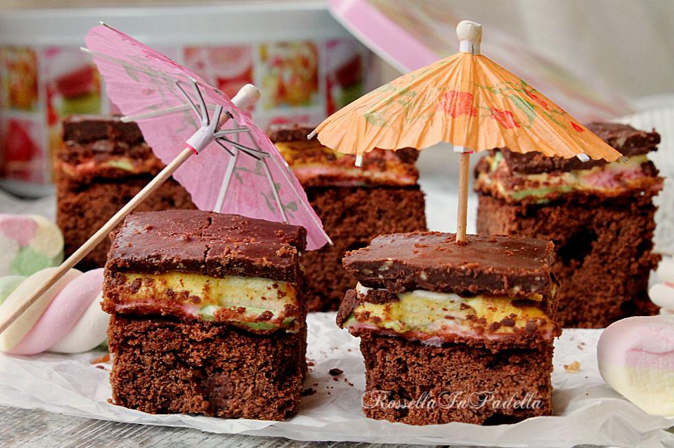 Brownie marshmallow, la torta pret a manger