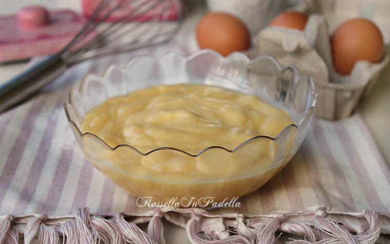 Crema alla vaniglia - vanilla cream