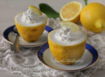 Frozen lemons, dessert al limone e cioccolato