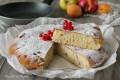 Torta alla frutta cotta in padella