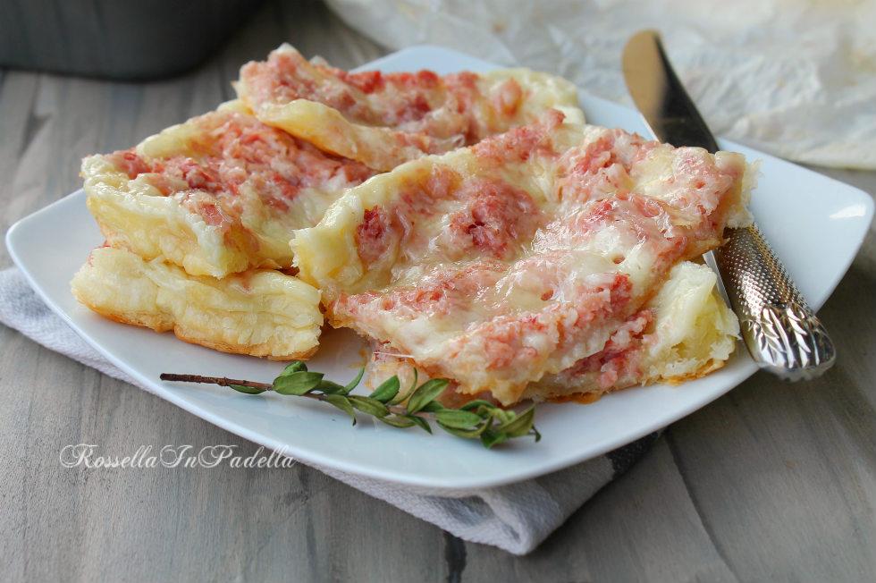 Clafoutis di prosciutto e mozzarella