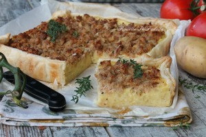 Torta di patate e tonno