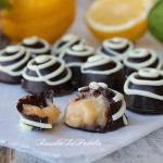 Choco-lemonade kiss, i cioccolatini al limone