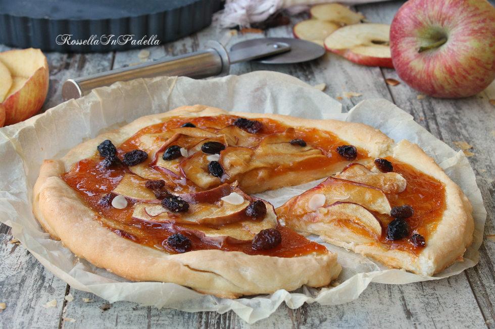 Pizza dolce alle mele rossellainpadella - Dolce forno gioco ...