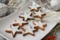 Stelle di frolla profumata, biscotti di Natale