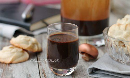 Liquore al caffè pronto in pochi minuti
