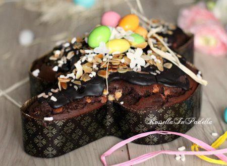 Torta colomba al cioccolato