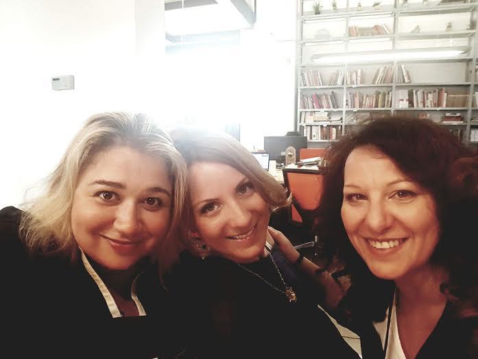 Leyla, Luisa ed io