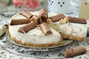Torta fredda con tronky al latte e cereali