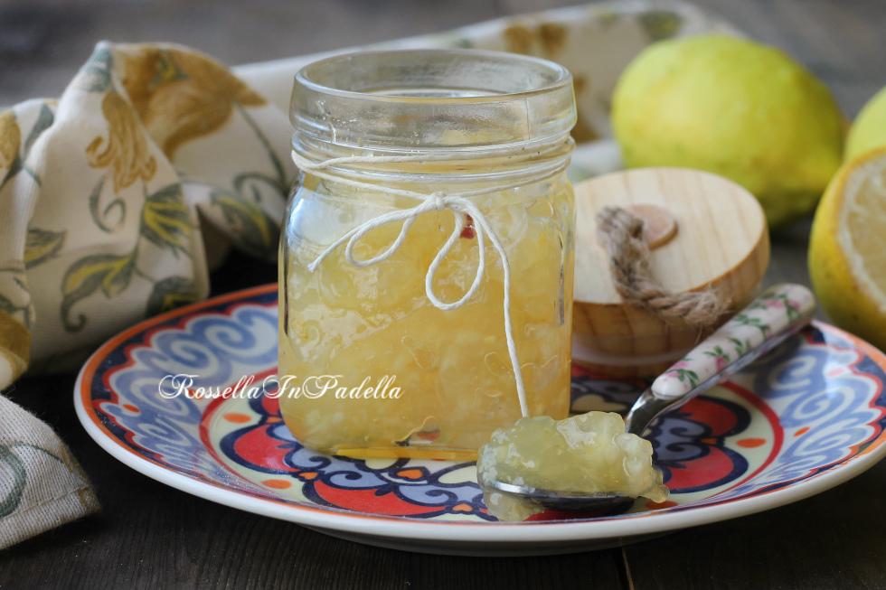 Marmllata di limoni fatta in casa