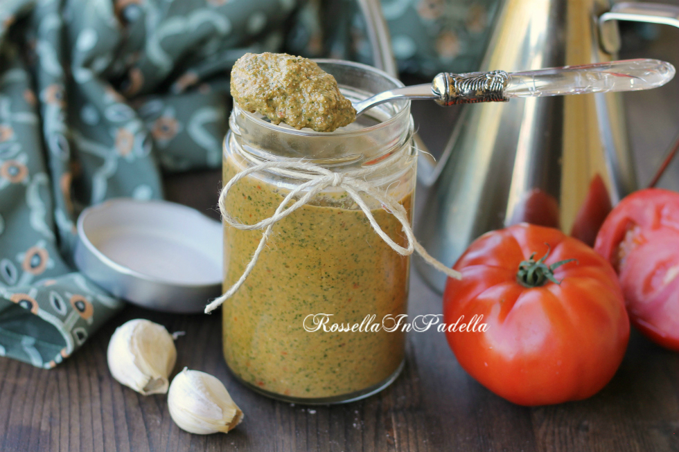 Pesto all'italiana, pesto veloce e gustoso