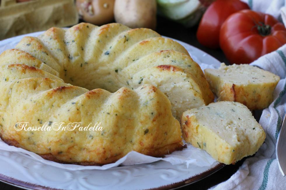Torta con fiocchi di patate in bustaTorta con fiocchi di patate in busta