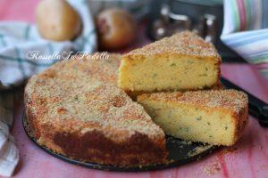 Torta di patate veloce, ricetta golosa