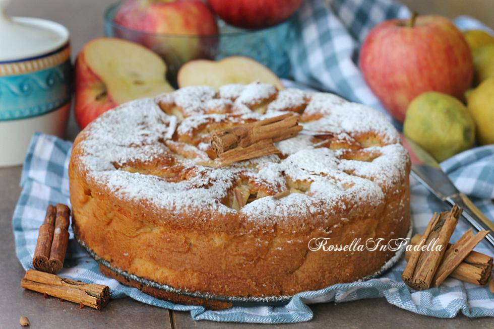 Ricetta della torta di mele senza burro