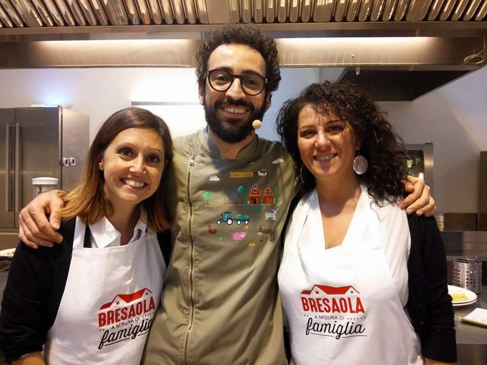 Evento Bresaola della Valtellina igp - in cucina con la famiglia