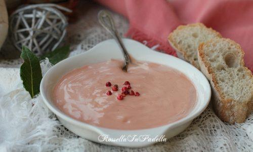 Salsa rosa o salsa cocktail, ricetta base