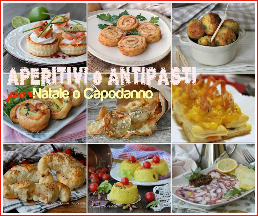 Ricette di aperitivi e antipasti per natale e capodanno for Stuzzichini di natale 100 idee per stupire