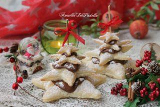 Alberelli di Natale alla nutella, ricetta di Natale
