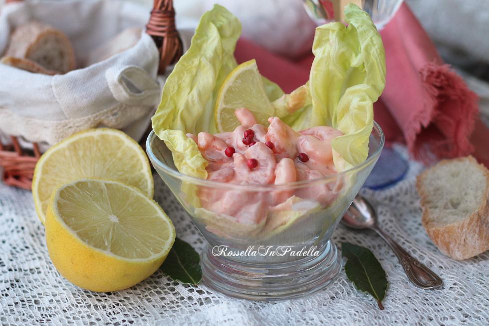 Cocktail di gamberi, ricetta antipasto