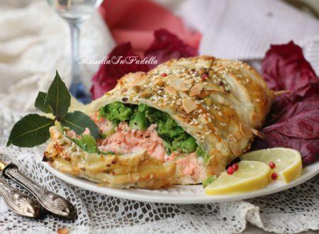 Salmone in crosta, ricetta secondo piatto gustoso