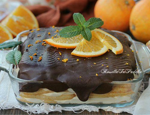 Tiramisù all'arancia e cioccolato, ricetta semplice e veloce