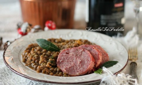 Ricetta del cotechino e lenticchie, ricetta tradizionale