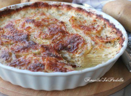 Patate alla Dauphinoise, ricette con con le patate