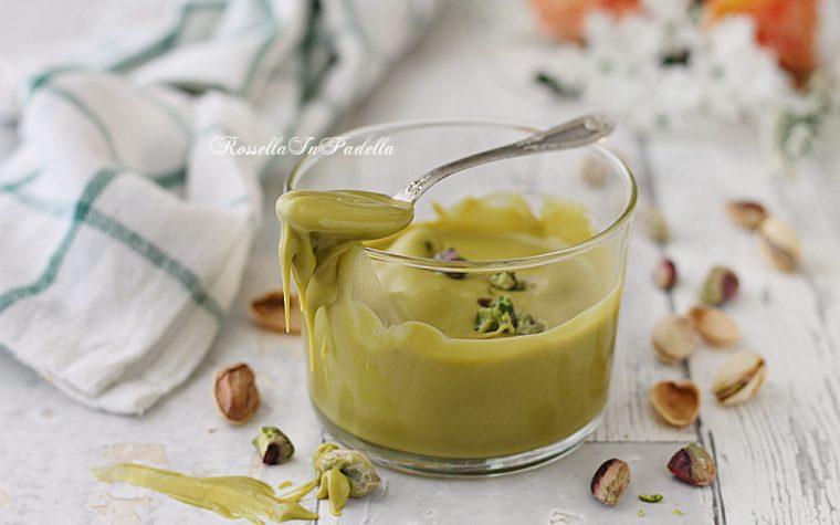 Crema al pistacchio, ricetta crema spalmabile