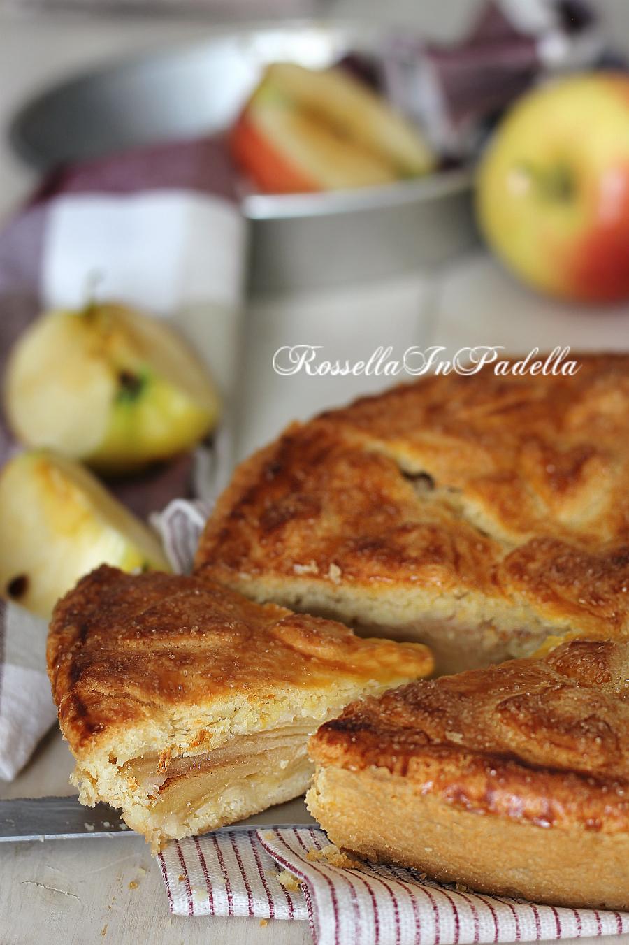 Crostata di mele irlandese ricetta con le mele torta for Crostata di mele