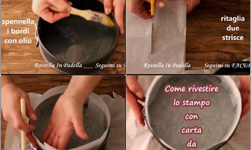 Come rivestire uno stampo con carta da forno in poche mosse!