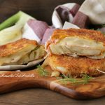 Cotolette di finocchi farcite con pancetta e formaggio
