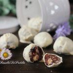 Tartufi con ringo, nutella e cioccolato bianco, ricetta facile senza cottura