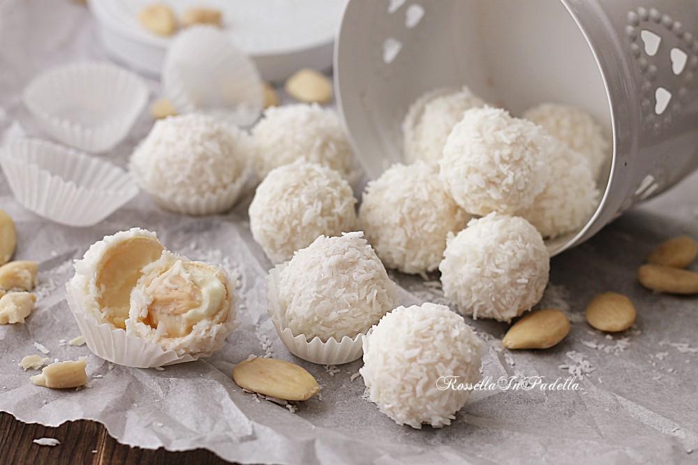 Ricetta Raffaello Wafer.Dolcetti Con Wafer Cocco E Cioccolato Bianco I Raffaello Fatti In Casa