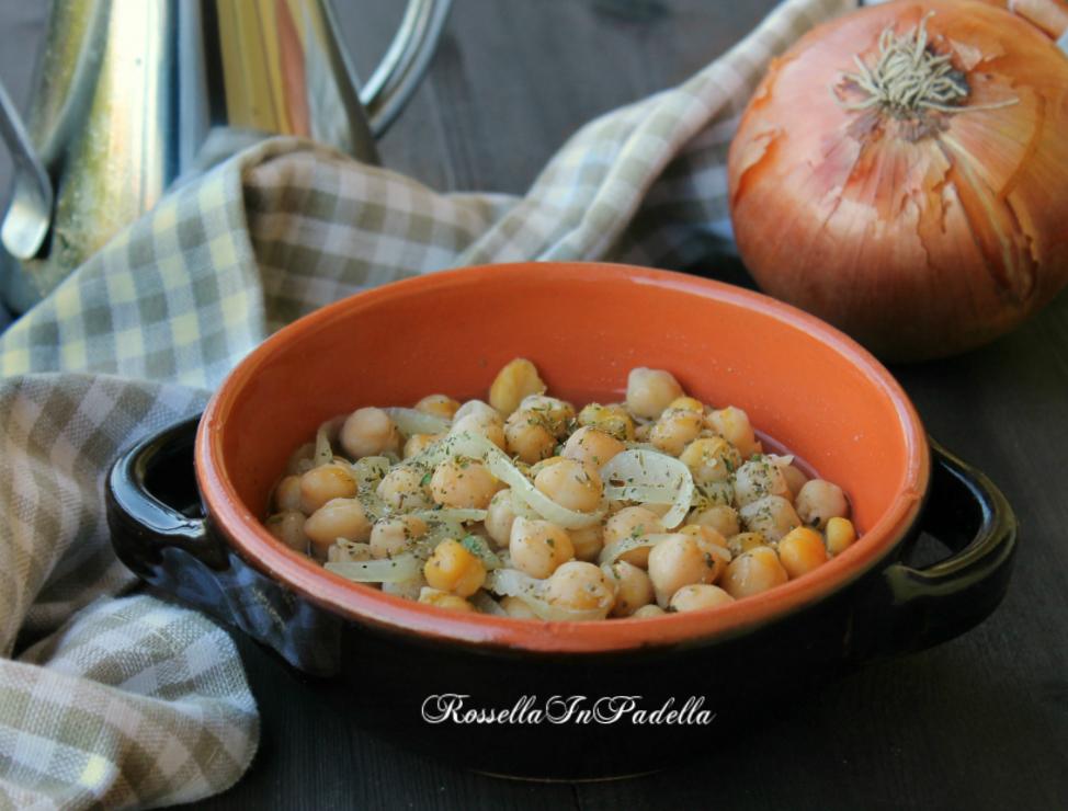 Zuppa di ceci, ricetta semplice