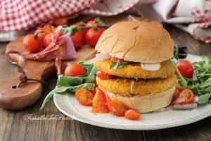 Burger bio con pomodorini