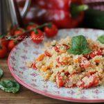 Cous cous con verdure, ricetta primo piatto leggero
