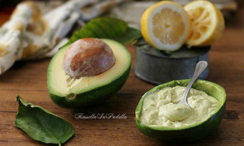Salsa guacamole allo yogurt