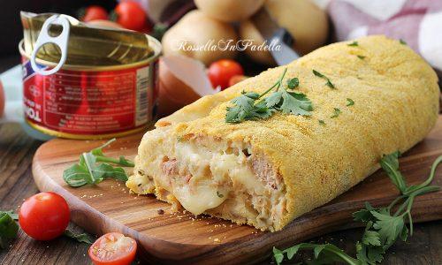 Polpettone di tonno e patate, ricetta facile e gustosa