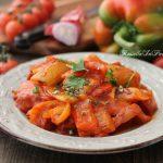 Peperonata, la ricetta ed il trucco per renderla digeribile