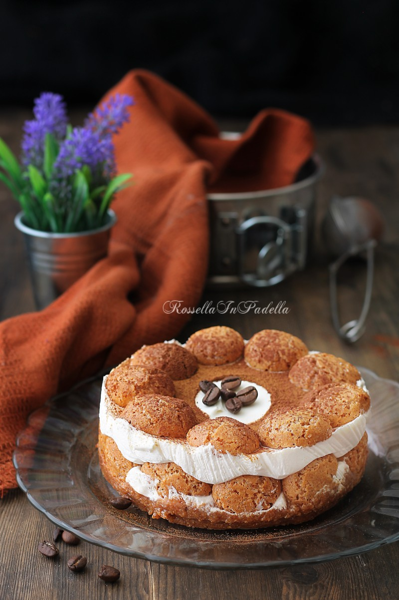 Torta Al Caffè E Amaretti Ricetta Fresca Senza Cottura