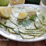 Zucchine marinate al limone e menta