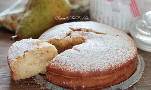 Pan di pera, la torta nel frullatore