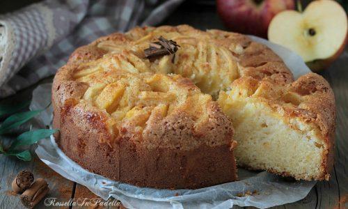 Torta di mele all'antica, ricetta torta di mele senza burro
