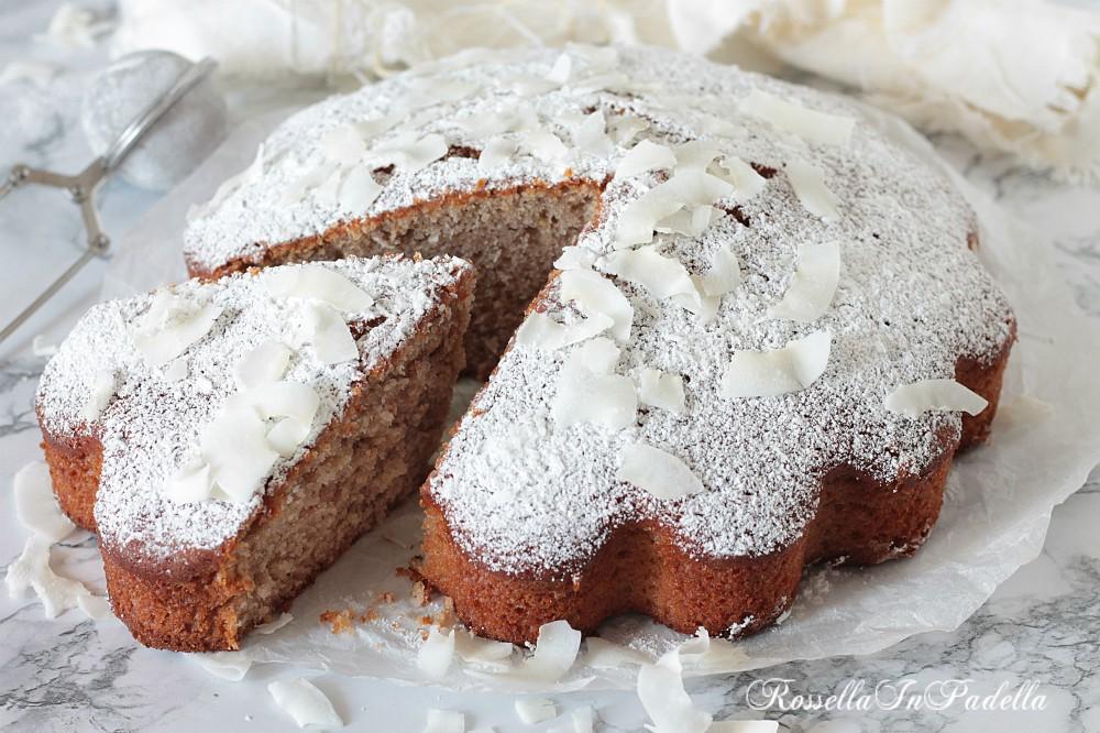 Torta mescolata alla marmellata, torta veloce senza burro