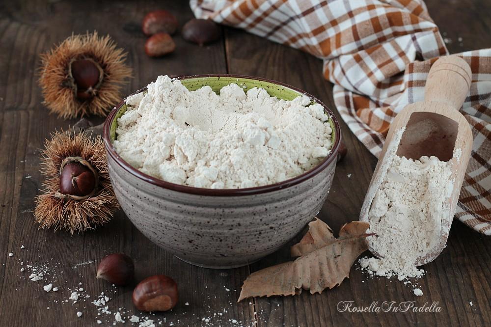 Farina di castagne, ricetta facile